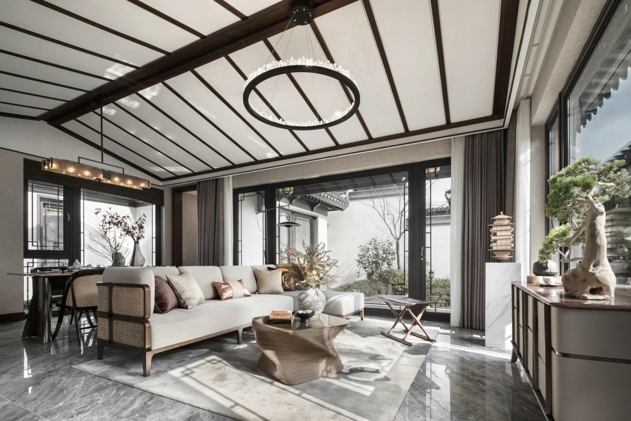150m²中式私宅,一草一木皆为意境之美!